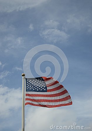 Americian stars and stripes flag
