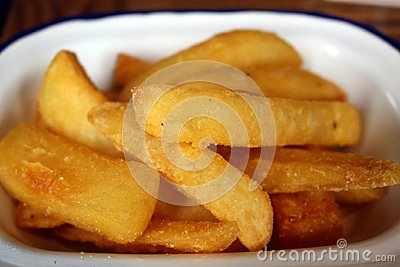 French fries or chunky chips