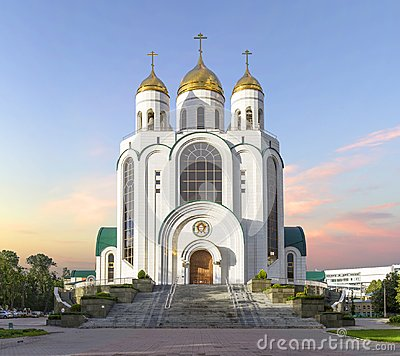 Cathedral of Christ the Saviour. Kaliningrad, Russia.