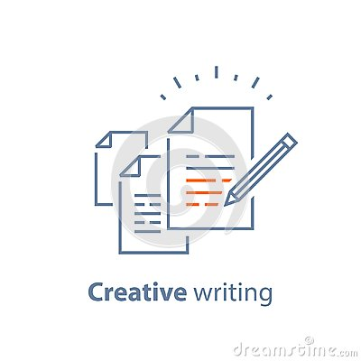 Contract terms and conditions, document paper, writing and storytelling concept, brief summary