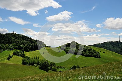 Kaiserstuhl Landscape in Germany Europe
