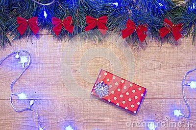 Decoration, holiday, box, present, paper, joy, joyfulness, gladness, drawing, give, packaging, boxing, bounty, donative, packed, c