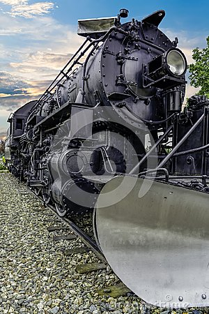 Alaska Railroad engine 556