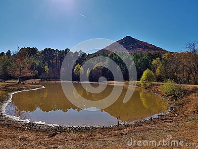 Pinnacle Mountain Reflection pond