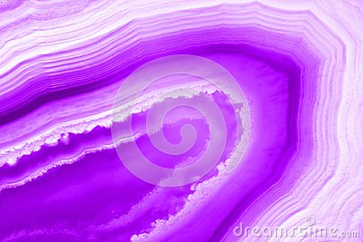 Abstract background, ultra violet pruple agate mineral
