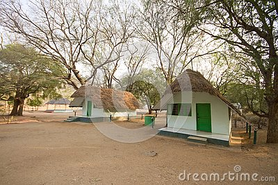 Hut in muthathi territorial forest