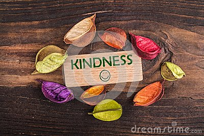Kindness with happy face