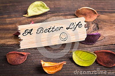 A better life in card