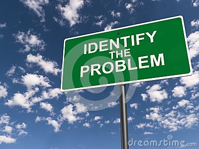 Identify the problem road sign