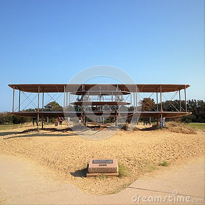 Wright Brothers National Memorial, located in Kill Devil Hills, North Carolina