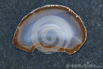 Refined Agate on stone surface