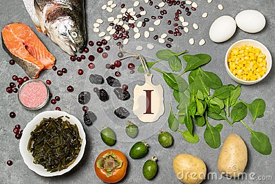 Food is source of iodine