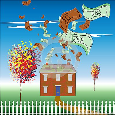 Money spent on the upkeep of a home
