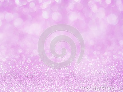 Violet abstract glitter background with bokeh. lights blurry soft pink for the romance background, light bokeh holiday party back