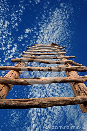 Dreamscape with Kiva Ladder and Sky