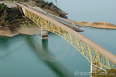 Lake bridge