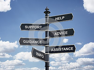 Help, support, advice, guidance, assistance and info crossroad s