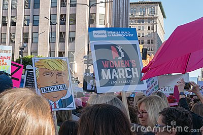 2nd Annual Women`s March - Impeach