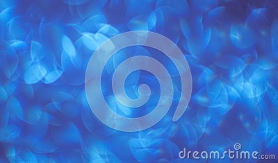Background of beautiful blue with white bokeh. backgrounds and abstractions