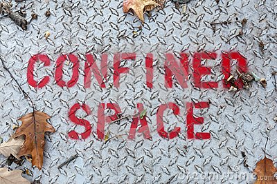 Confined Space Sign