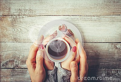 A cup of coffee. Drink.