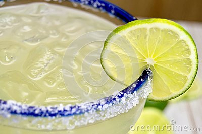 Margarita with lime