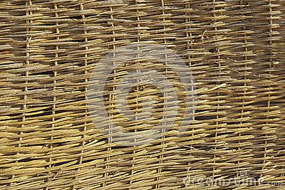 Straw Roof Texture
