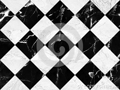 Black and white marble bricks wall background , seamless marble wall pattern , for Interiors design. High resolution