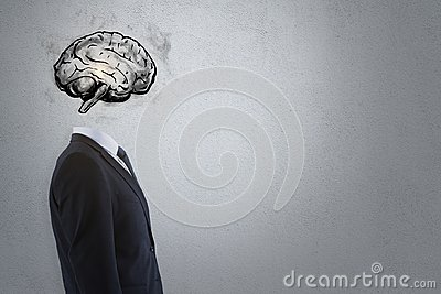 stock image of brainstorm and intellect concept