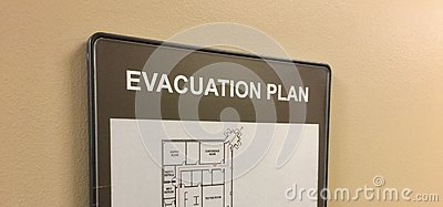 Evacuation Plan for Home or Office