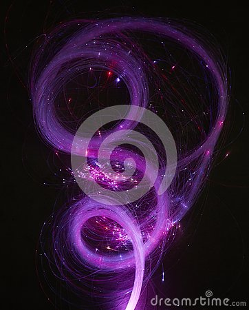 Abstract background. Luminous swirling. Elegant glowing. Sparking particle. Glint lines.