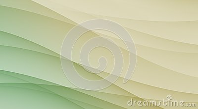 Green tan and ivory smooth diagonal curves business background template backdrop