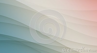Shades of soft translucent blue white and pink smooth diagonal curves luxury background template