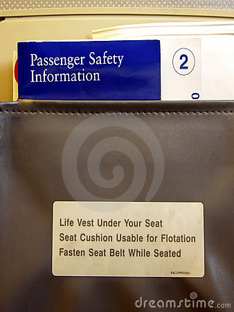 Airline-Seat Pocket Info