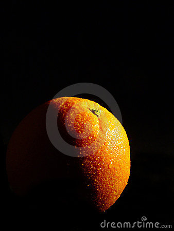 The orange light