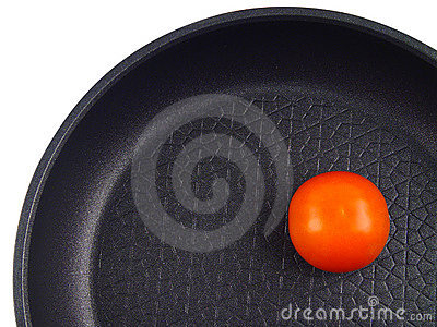 The red tomato