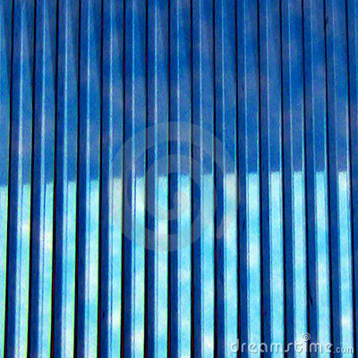 Abstract - Blue Lines