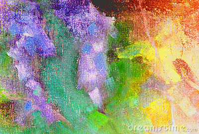 Full color abstract