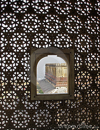 India - view from the harem