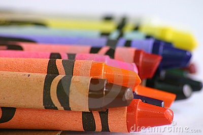 Crayon close-up