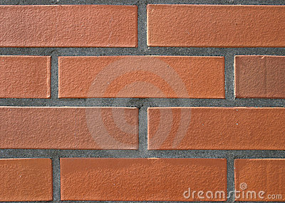 Clear brick wall