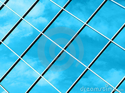 Abstract Clouds - Blue