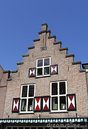 Dutch historic facade 1