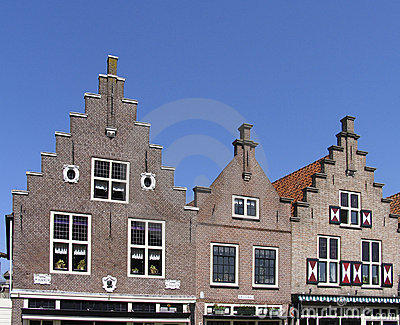 Dutch historic facades
