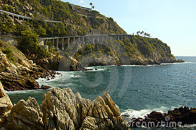 Acapulco Cliff Shorelines