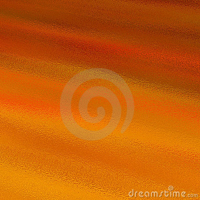 Orange and red patterned glass