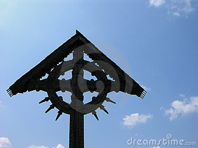 Cross On A Blue Sky