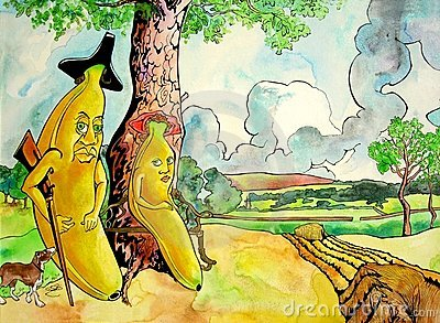 Mr Banana and His Wife