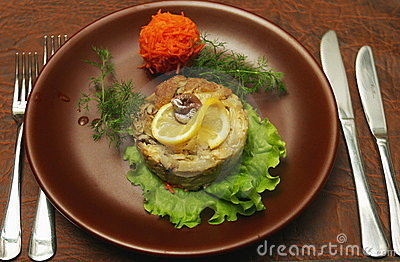 Meat dish with lemon 2