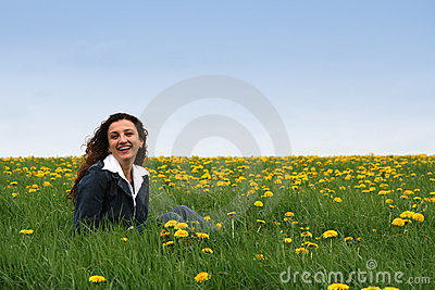 Happy in the meadow III
